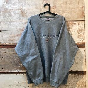 fleece sweatshirt // Vintage